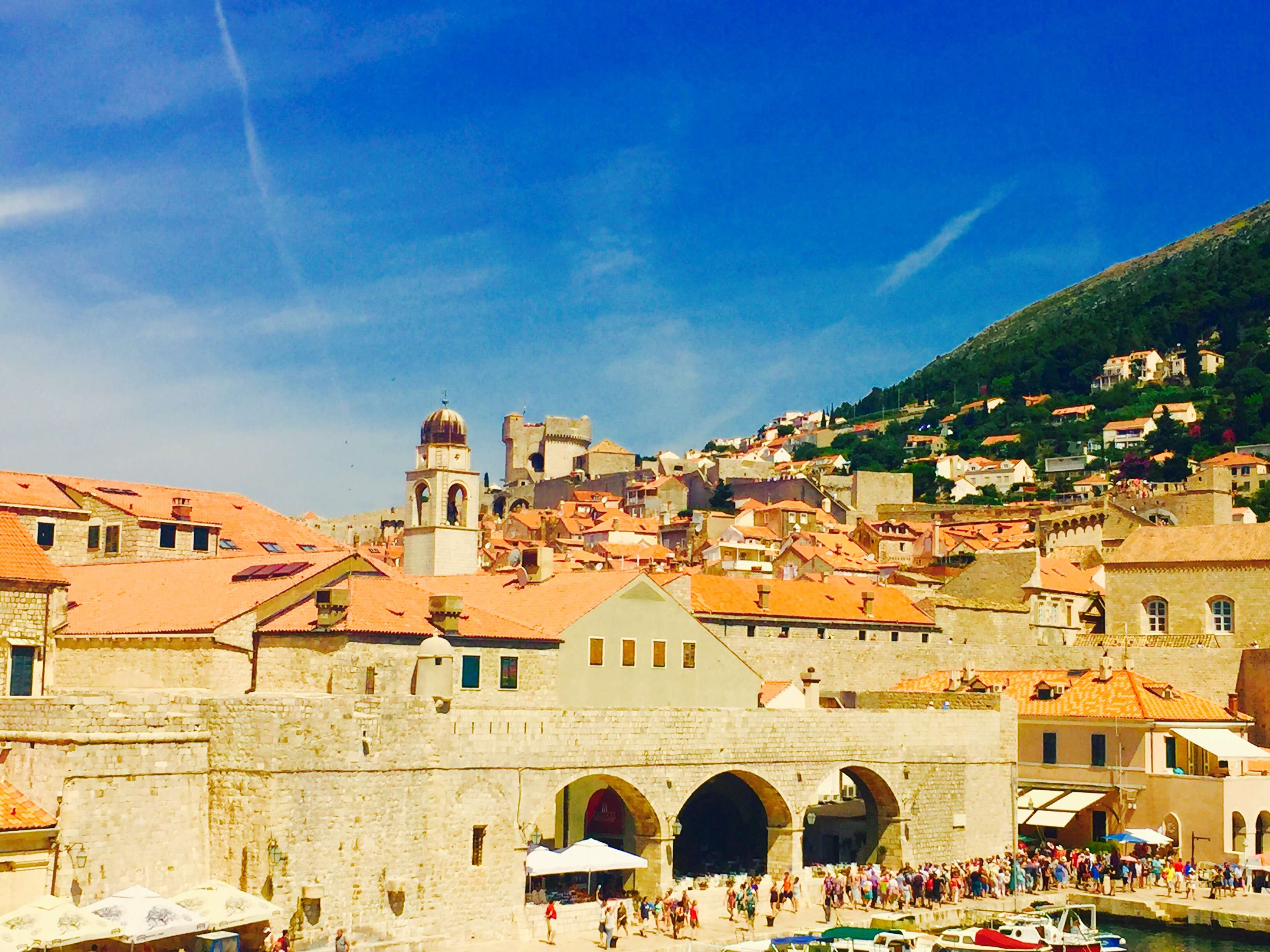 Sight: The historic city centre Dubrovnik