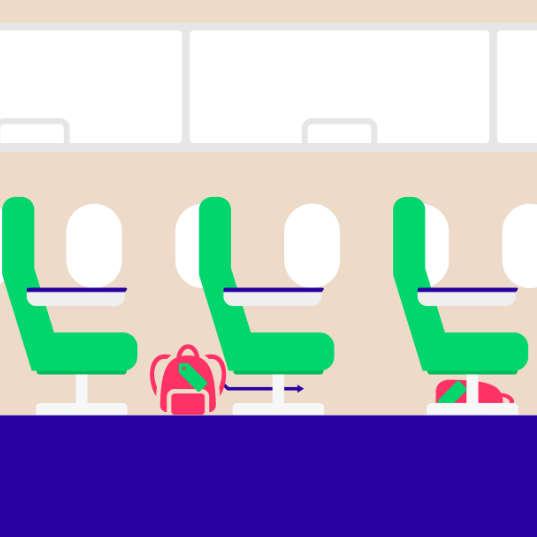 Handbagage Transavia